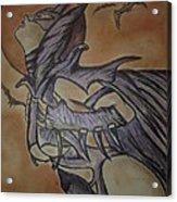 Batgirl Acrylic Print