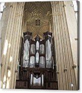 Bath Abbey England Acrylic Print