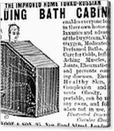 Bath Cabinet, 1897 Acrylic Print