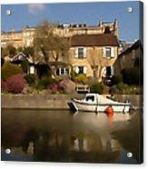 Bath Canalside Acrylic Print