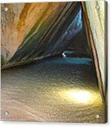 Bath Cave Acrylic Print