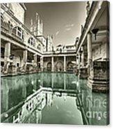 Bath Of Bath  Acrylic Print