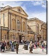Bath Somerset Acrylic Print by Colin and Linda McKie