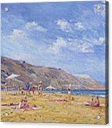Bathers, Gozo  Acrylic Print