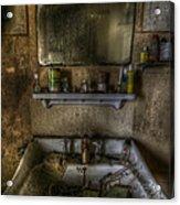 Bathroom Sink Acrylic Print