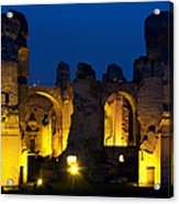 Baths Of Caracalla Acrylic Print
