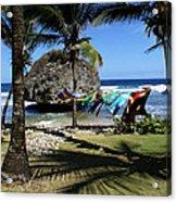 Bathsheba Barbados Acrylic Print