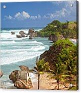 Bathsheba Beach Acrylic Print