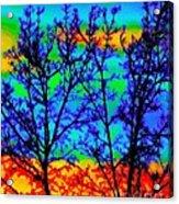 Batik By Design Acrylic Print
