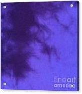 Batik In Purple Shades Acrylic Print