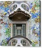 Batllo Balconies Acrylic Print