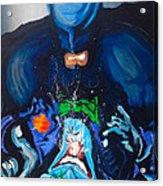 Batman Vs Joker Acrylic Print