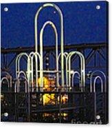 Baton Rouge Riverfront Landing Acrylic Print