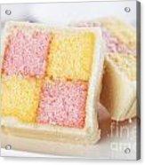 Battenberg Cakes Acrylic Print
