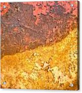 Battered To Rust Acrylic Print