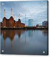 Battersea Power Plant. Acrylic Print
