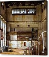 Battersea Power Station Interior Acrylic Print