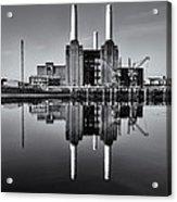 Battersea Reflection Acrylic Print