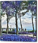 Battery Park In The Spring Acrylic Print
