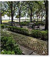Battery Park Acrylic Print