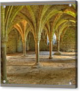 Battle Abbey Cloisters Acrylic Print