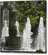 Battle Fountain Acrylic Print