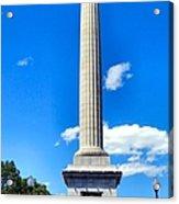Battle Monument Acrylic Print