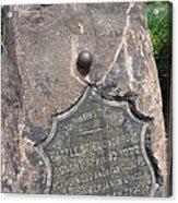 Battle Of Bound Brook - Revolutionary War Acrylic Print
