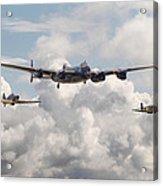 Battle Of Britain - Memorial Flight Acrylic Print
