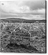 Battle Of Culloden Acrylic Print