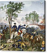 Battle Of Eutaw Springs Acrylic Print