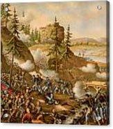 Battle Of Missionary Ridge Acrylic Print