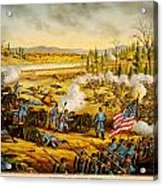 Battle Of Stones River Acrylic Print