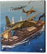 Battle Of The Bismark Sea Acrylic Print