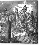 Battle Of The Camel, 656 Acrylic Print