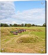 Battle Of Yorktown Battlefield Acrylic Print by John M Bailey