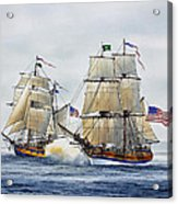 Battle Sail Acrylic Print
