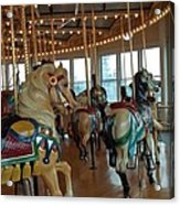 Battle Ship Cove Carousel Acrylic Print