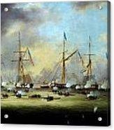 Battlelakeborgnehornbrook Acrylic Print