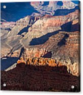 Battleship Rock At The Grand Canyon Acrylic Print