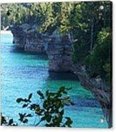 Battleship Row Pictured Rocks National Lakeshore Acrylic Print