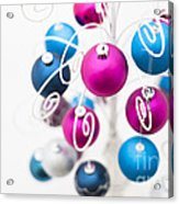 Baubles From Above Acrylic Print