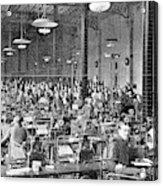 Baudot Telegraph System Acrylic Print