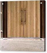 Baughman Center Front Door Acrylic Print
