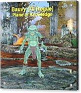 Bauvy As A Goblin Rogue Acrylic Print