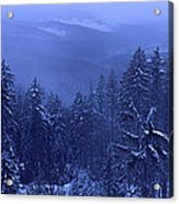Bavarian Forest In Winter Acrylic Print by Ulrich Kunst And Bettina Scheidulin
