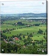 Bavarian Green Valley Acrylic Print
