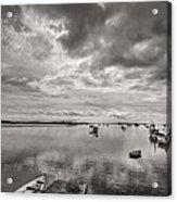 Bay Area Boats Acrylic Print by Jon Glaser
