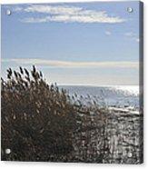 Bay Breeze In Winter Acrylic Print