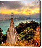 Bay Bridge Acrylic Print